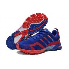 Мужские беговые кроссовки Adidas Marathon Flyknit Blue/Red