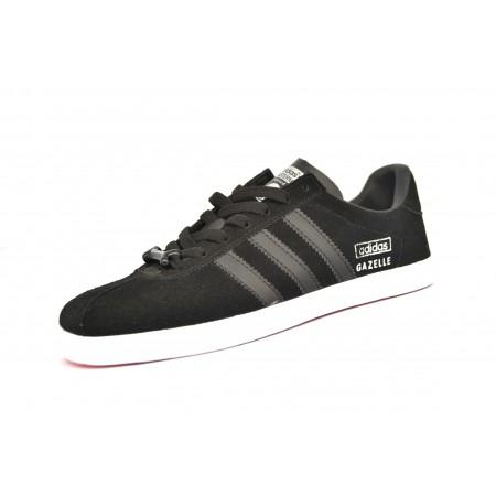 Эксклюзивная брендовая модель  Мужские черные кеды Adidas Gazelle Skull Edidtion Black Top