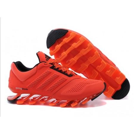 Эксклюзивная брендовая модель Мужские беговые кроссовки Adidas SpringBlade Orange/Black